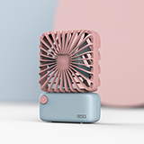 GEGEI MINI方形小风扇 桌面小风扇 F3
