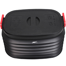 领路者车载折叠置物箱LZ-1701 户外车载便携收纳折叠水桶