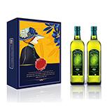 阿茜娅 意大利进口 特级初榨橄榄油 至尊礼盒1000ml*2 精装