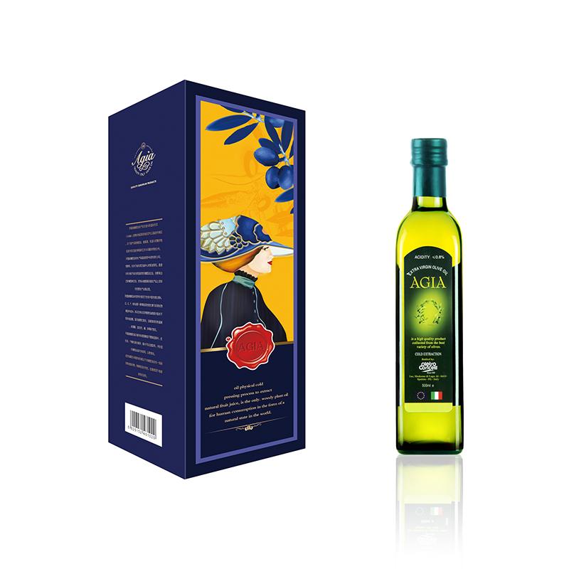 阿茜娅 意大利进口 特级初榨橄榄油 丽雅礼盒500ml*1