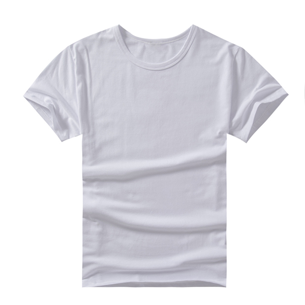 150g全棉圓領短袖T恤 logo、顏色可定制