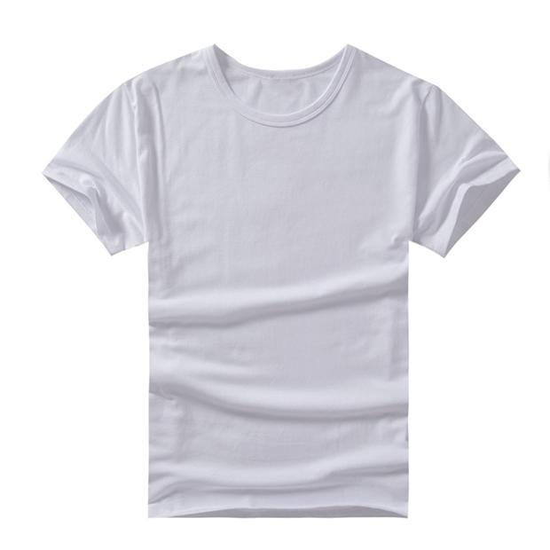 150g全棉圆领短袖T恤 logo、颜色可定制
