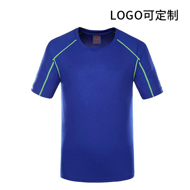 速干衣 休闲透气圆领T恤 logo可定制