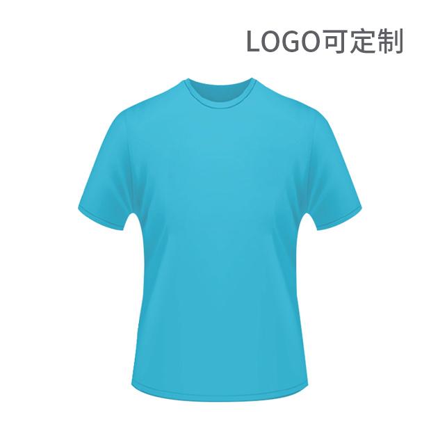 190g精梳圓領T恤 logo可定制