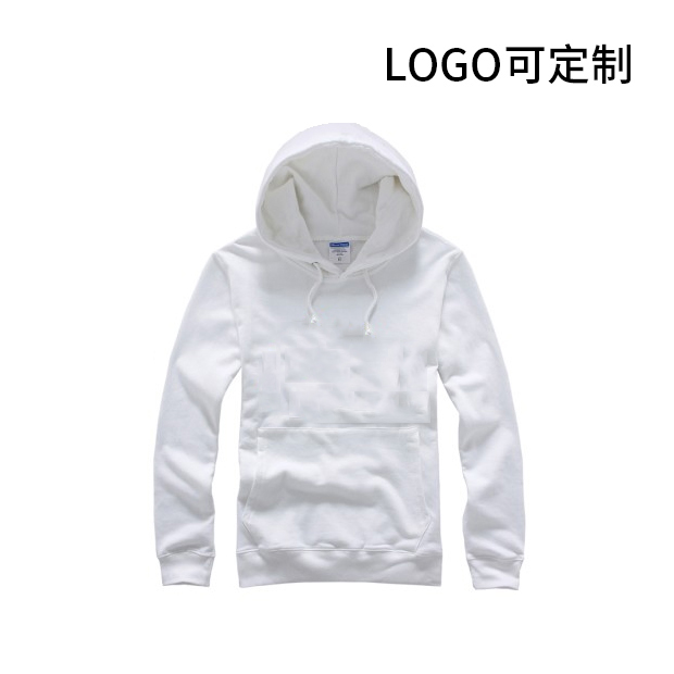 270g純棉毛圈套頭長袖衛衣 logo可定制