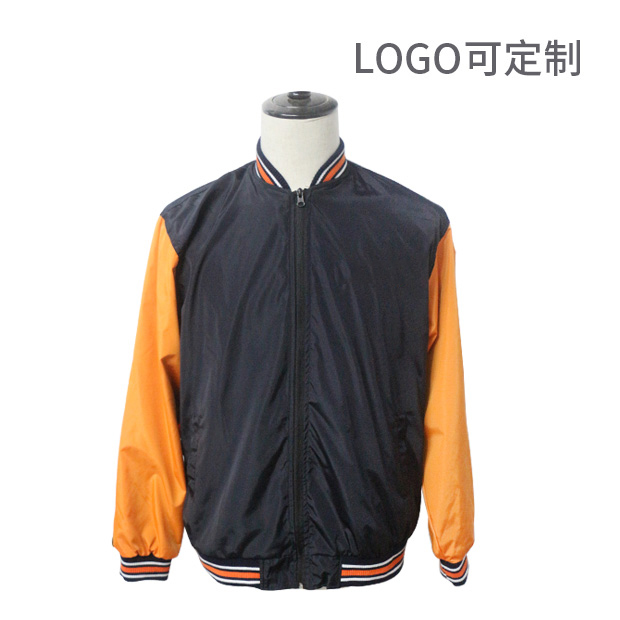 纯棉多色长袖夹克衫Logo可定制
