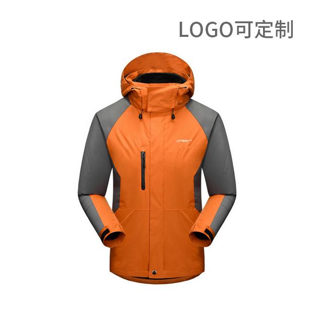 可拆卸抓绒冲锋衣 logo可定制