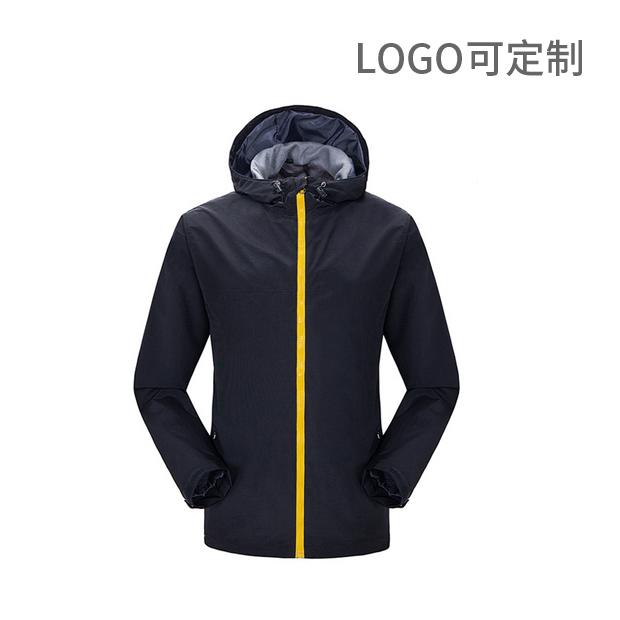 戶外服裝 男女款單層沖鋒衣 Logo可定制