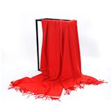 芳恩家纺 艾丝雅兰 A-D304 素色木代尔围巾披肩 围巾秋冬季加厚长款纯色披肩两用保暖