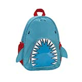 Rockland洛克蘭 雙語故事兒童書包 鯊魚款