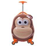 Rockland洛克兰 双语故事 16寸儿童拉杆箱 猴子款