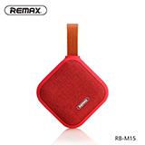 REMAX/睿量   便攜式布藝藍牙音箱  RB-M15