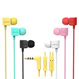 REMAX/睿量 RM-502 入耳式耳机 有线重低音糖果色耳机
