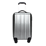SYYTSSCEAR拉杆箱20寸  SA-750PC ABS材质轻盈旅行箱万向轮行李箱 银灰色