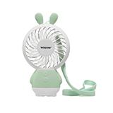 沃品(wopow)手持迷你小風扇可充電  小兔子