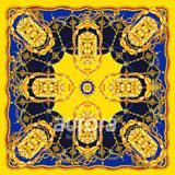 奥罗拉 璀璨桑蚕丝丝巾120*120cm B9-002