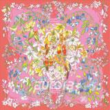 奧羅拉(aurora)秘密花園桑蠶絲絲巾90*90cm  B1-098