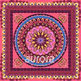 奧羅拉(aurora)女人的花冠桑蠶絲絲巾53*53cm   B3-001