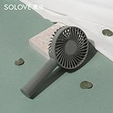 素樂(SOLOVE) 迷你手持風扇可充電 F1