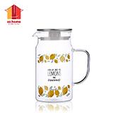 sohome 米兰耐热玻璃冷热水壶 R149-09SS