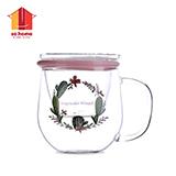 sohome 茗佳耐熱玻璃茶隔杯 C773-35