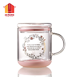 sohome 玉竹耐熱玻璃桌面杯 C918-35