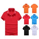 160克超細雙珠地Polo衫 T恤衫(100%聚酯纖維)