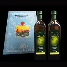 阿茜婭 意大利進口 特級初榨橄欖油 典雅禮盒750*2 簡裝