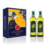阿茜娅 意大利进口 特级初榨橄榄油 尊享礼盒750ml*2 精装