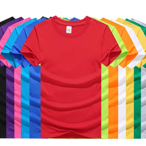 180克莫代尔棉T恤 文化衫(50%棉,50%莫代尔)