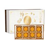 樂琪 中秋流心奶黃月餅禮盒400g