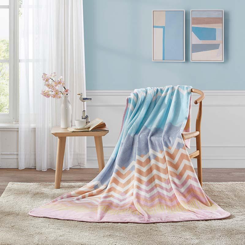 羅萊家紡夢幻北歐法蘭絨毯
