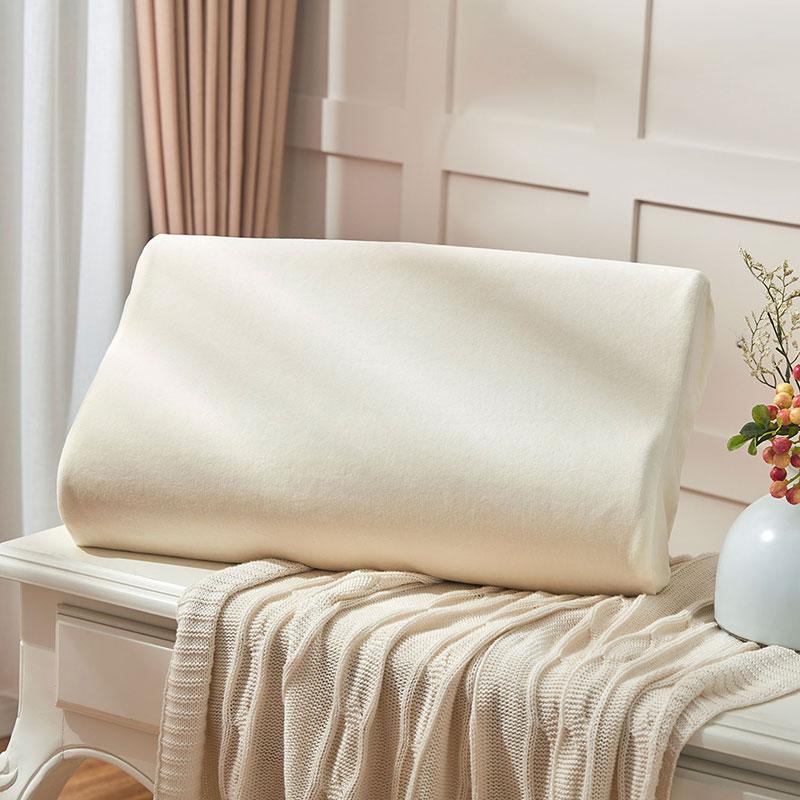 罗莱天鹅绒乳胶枕