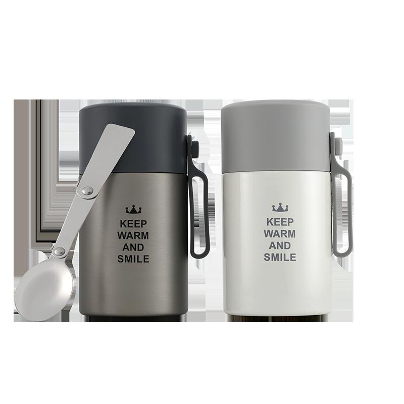 KS焖烧杯304不锈钢闷烧保温桶壶闷烧罐 便当盒方便带餐勺