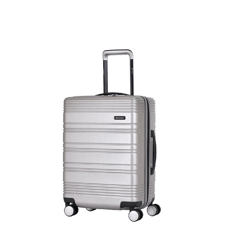 安迈特雅士(EMINENT)拉杆箱 万向轮行李箱男 时尚商务旅行箱 20英寸登机箱 KJ56-银色 银色 20寸