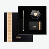 ipluso Mars火星系列-黑金鋼筆墨水商務禮盒