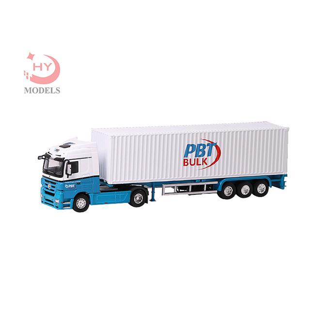 PBT白色集裝箱卡車