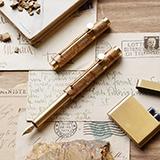 意外设计 入石·便携小钢笔(秋实款)
