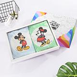 迪士尼·幻彩毛巾两件套 DMM-2550T2