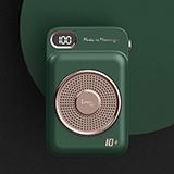 幻响 小唱机移动电源10000mAh HD-P03