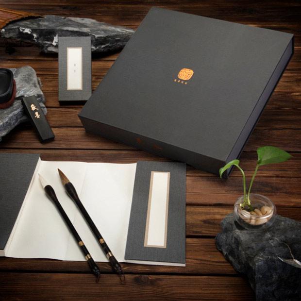 木石前盟 筆墨紙硯