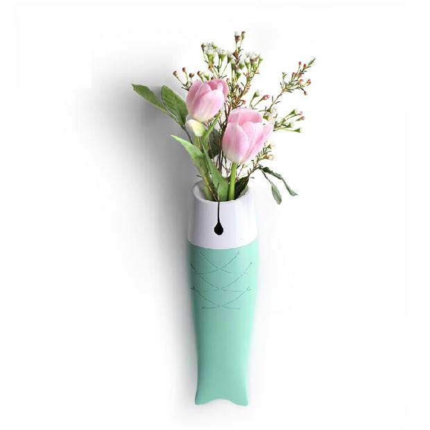 創意墻面花瓶