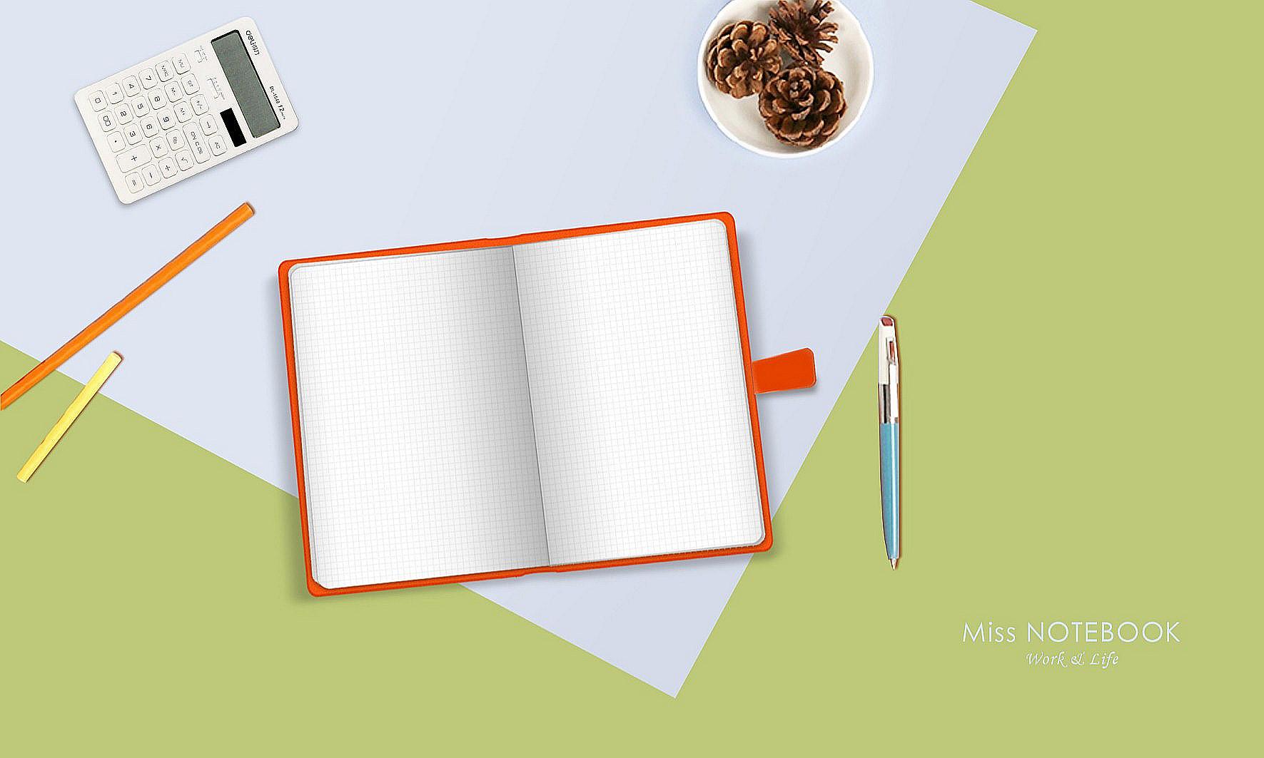 糖果色商务笔记本—宜信定制