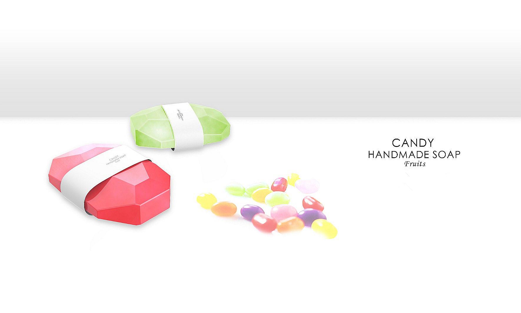 糖果色钻石手工皂—宜信定制