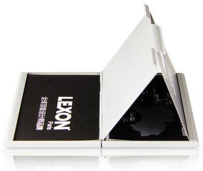乐上(LEXON)双层名片盒(Double card case)