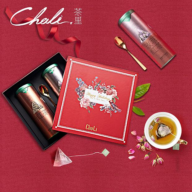 chali红茶馆茶叶礼盒