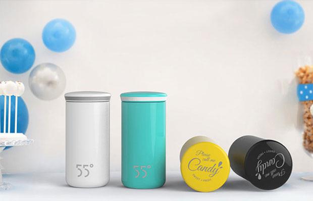三八节礼品推荐:55°杯 (candy)设计师杯