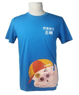 定制T恤:平紋布料