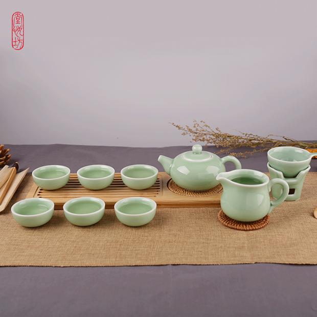 周年慶典:堂悅坊 玉玲瓏茶具套裝