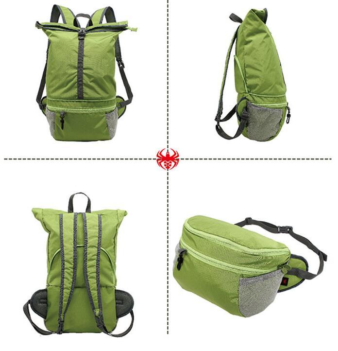 商务馈赠:炫彩多功能折叠背包